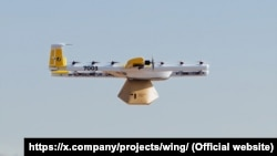 "Project ""Wing"" is an autonomous delivery drone service."