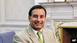 巴基斯坦驻美国大使侯塞因.哈卡尼(资料照)