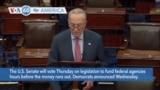 VOA60 America - U.S. Senate to vote on legislation to fund federal agencies