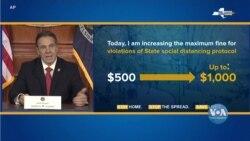Covid-19 у США: Соціальне дистанціювання працює, - Губернатор Нью-Йорка. Відео