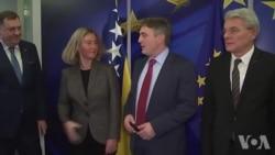 Dodik i Džaferović sastanak sa Mogherini ocijenili uspješnim i konstruktivnim