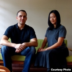 Daliana Suryawinata dan Florian Heinzelmann, bangga Microlibrary Warak Kayu jadi finalis Architizer A+ Awards 2020. (Courtesy: Pribadi.)