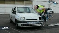 Premier gilet Airbag pour cyclistes