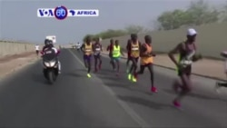 Umunya-Etiyopiya Abere Kassaw Belay Yabaye Uwa Mbere mu Kwiruka Marathon y'i Dakar Muri Senegali