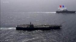 Ամերիկյան ռազմանավերը ռազմական վարժություններ են անցկացրել Արաբական ծովում