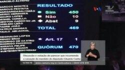 Destituyen a parlamentario que inicio proceso contra Dilma Rousseff