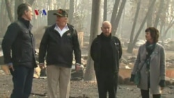 Kebakaran California, Hampir 1.300 Orang Dilaporkan Hilang
