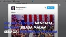 Hillary Clinton Ukir Sejarah