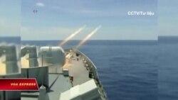 Trung Quốc thử vũ khí, bắn đạn thật ở Bột Hải