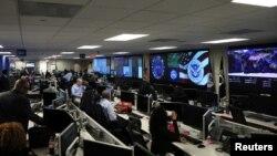 Trung tâm An ninh mạng của Bộ An ninh Nội địa Mỹ ở Arlington, Virginia.