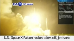 VOA60 World - SpaceX Achieves Long Sought Historic Feat in Rocket Launch