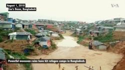 Monsoon Rains Threaten Thousands of Rohingya Refugees in Bangladesh Camps