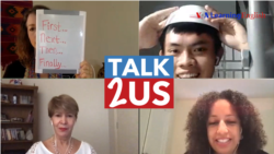 TALK2US: Improve Your Speaking by Making How-to Videos