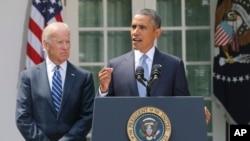 Tổng thống Hoa Kỳ Barack Obama phát biểu về cuộc khủng hoảng Syria tại Vườn Hồng Tòa Bạch Ốc, ngày 31/8/2013.