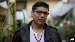 Darío Guerrero nació en México y se mudó con su familia a California cuando tenía dos años.