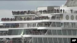 ເຮືອສໍາລານ Balmoral ທີ່ຈະເດີນຕາມຮອຍເຮືອສໍາລານ Titanic