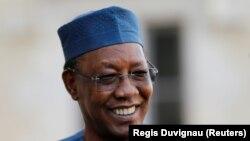 Aliyekuwa rais wa Chad hayati Idriss Deby Itno.