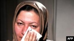Thay vì bị ném đá tới chết bà Mohammadi Ashtiani (hình trên) đã bị kết án 10 năm tù