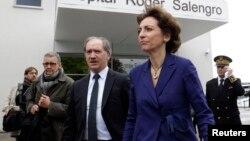 La ministre française de la Santé Marisol Touraine le 11 mai 2013 à Lille. (Reuters)