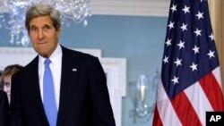 美國國務卿約翰.克里(資料圖片)