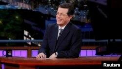 Stephen Colbert dijo que finalmente logró que el presidente Donald Trump pronunciara su nombre, así sea para criticarlo.
