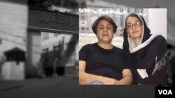 شهلا جهانبین (راست) و شهلا انتصاری، امضاکنندگان نامه «گذار از جمهوری اسلامی»