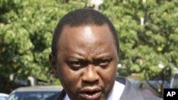 Kenya's Finance Minister Uhuru Kenyatta (file photo).