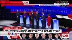 6 Berbijarên Demokrat di Gotûbêja CNN'ê de Derketin Pêş Hilbijeran
