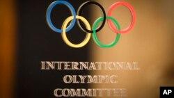 Le logo du comité internationale olympique