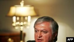 Հայաստանի արտաքին գործերի նախարար Էդվարդ Նալբանդյան (արխիվային լուսանկար)
