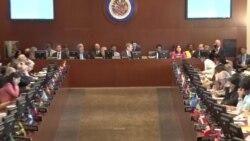 OEA: 13 países piden a Maduro que desista de Asamblea Constituyente
