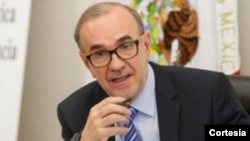 El actual embajador de México en Washington, Carlos Manuel Sada Solana, pasará a ocupar el puesto de subsecretario de Relaciones Exteriores para América del Norte.