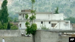 Osama bin Laden compound in Abbottabad, Pakistan