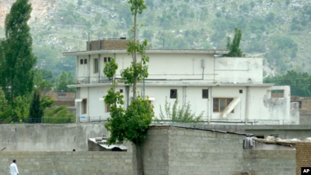 The compound where Osama bin Laden lived in Abbottabad, Pakistan. He was killed on May 2 during a covert U.S. military raid.