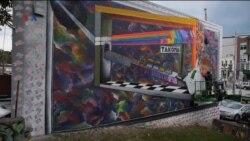 Seniman Grafiti Percantik Kota Washington DC