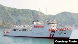 台灣海巡署和星艦(台灣海巡署提供)