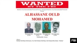 "FILE - Alhassane Ould Mohamed, also known as ""Cheibani"", was among 22 Islamist militants who escaped from a prison in Niger's capital in June."