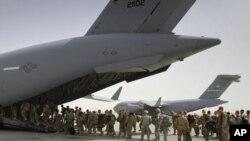US troops Leaving Afghansitan