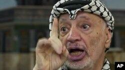 지난 2004년 사망한 야세르 아라파트 전 팔레스타인 자치정부 수반(자료사진)