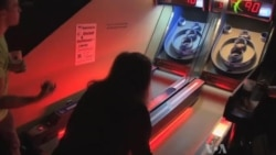 Getting into the Halloween Spirit; Skeeball, Costumes, Beer