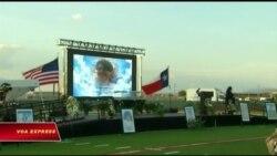 Tưởng niệm nạn nhân vụ xả súng ở Texas