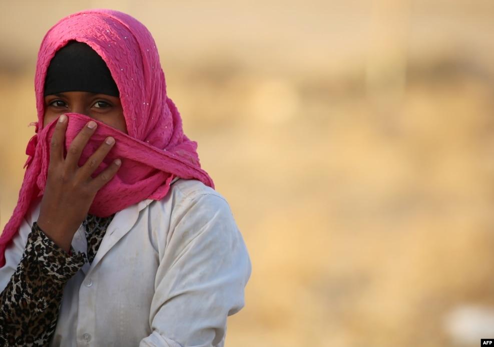Suriya - Əl-Holun qaçqın düşərgəsində