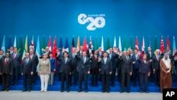 G20峰會領袖合照
