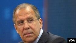 Menteri Luar Negeri Rusia Sergei Lavrov berkunjung ke Washington hari ini (13/7).