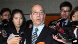 대니얼 러셀 미 국무부 동아시아태평양 담당 차관보 (자료사진)
