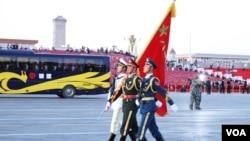 北京9.3大阅兵(1):阅兵现场