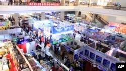 2017年5月22日北韓舉辦國際商展。