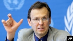 Director of WHO's Global TB Program, Mario Raviglione.