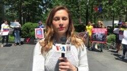Venezolanos en NY levantan su voz contra Goldman Sachs
