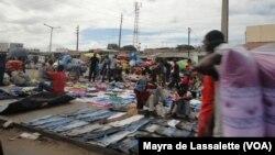 Mercado de Xipamanine em Maputo. Moçambique Setembro 2014
